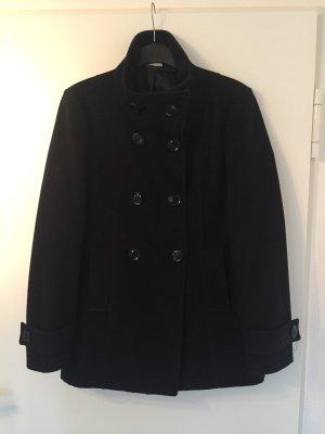 Street One Dufflecoat Mantel Jacke schwarz 38/M L Klassiker