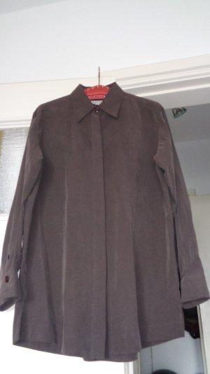 Street One Cols de blouses brun noir-brun viscose