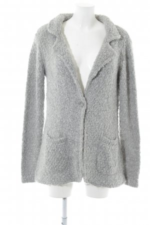 Street One Coarse Knitted Jacket light grey casual look