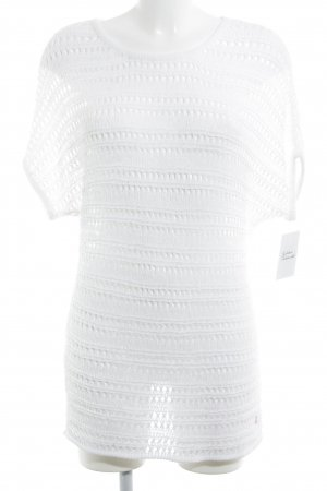 Street One Crochet Shirt white casual look