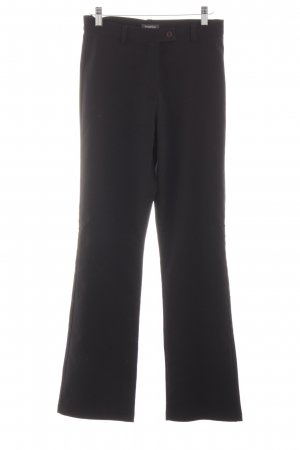 Street One High-Waist Hose schwarz Business-Look