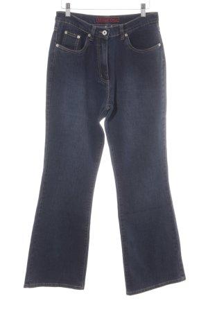Street One High Waist Jeans dunkelblau Casual-Look
