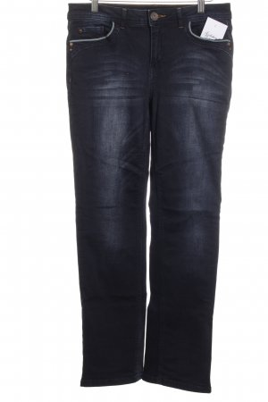 Street One High Waist Jeans dunkelblau Street-Fashion-Look