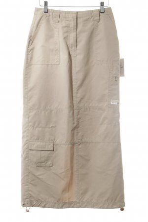 Street One High Waist Rock beige Nude-Look
