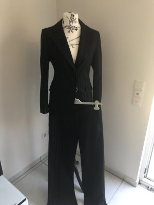 Street One Business Suit black-white
