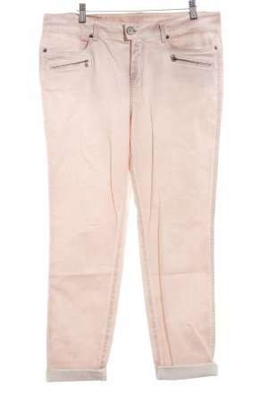 Street One Low-Rise Trousers dusky pink casual look