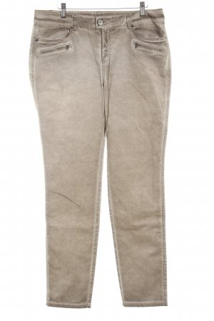 Street One Low-Rise Trousers camel casual look