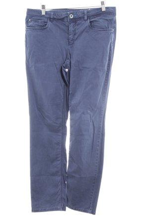 Street One Pantalone a vita bassa blu scuro stile casual