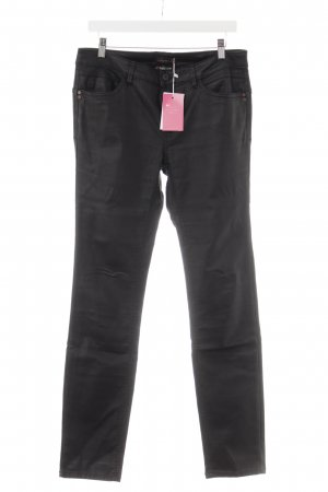 Street One Low-Rise Trousers black athletic style