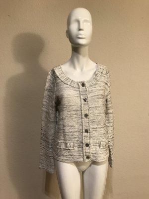 Street One Jacke Pullover 38 Strickjacke Tweed