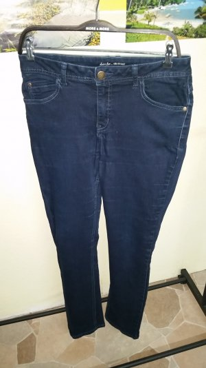 street one jeans gr. 31 blau stretch