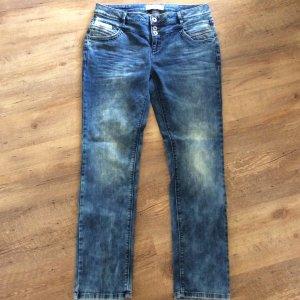 Street One Stretch jeans staalblauw