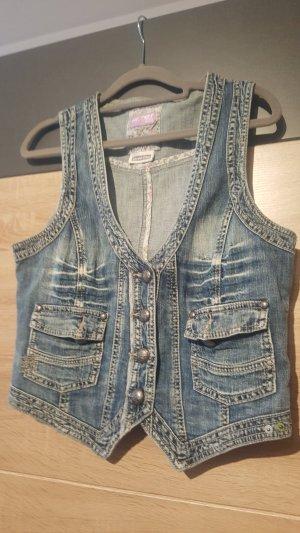 Street One Jeans Weste Gr. 42