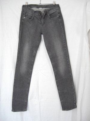 Street One Jeans York slim legs grau