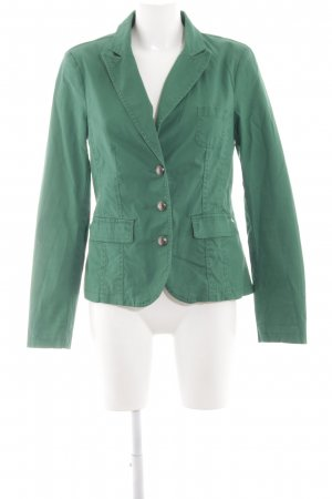 Street One Denim Blazer green-khaki business style
