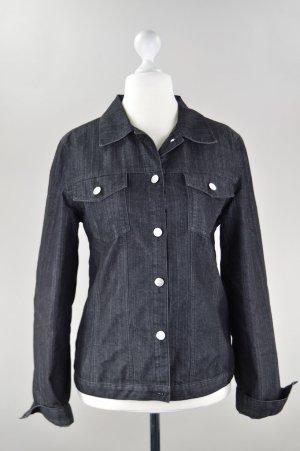 Street One Jeansjacke Brusttaschen schwarz Größe 40