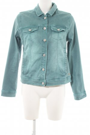 Street One Denim Jacket lime-green-cadet blue casual look
