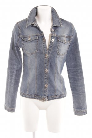 Street One Jeansjacke himmelblau-kornblumenblau Washed-Optik