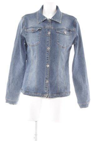 Street One Jeansjacke mehrfarbig Washed-Optik
