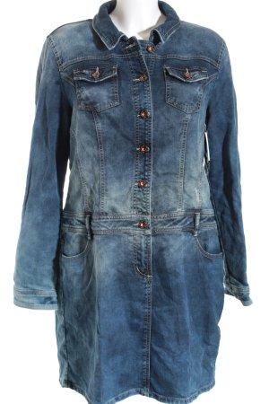 Street One Jeanskleid blau Casual-Look