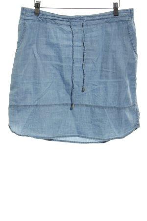 Street One Jupe en jeans bleu azur Look de plage