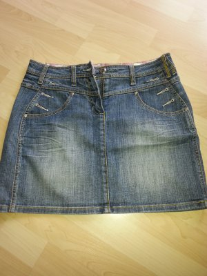 Street One Jeansrock mit cooler Waschung