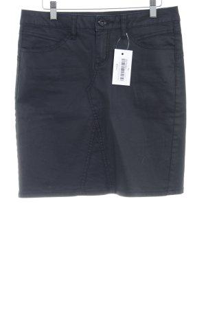 Street One Jeansrock schwarz Jeans-Optik