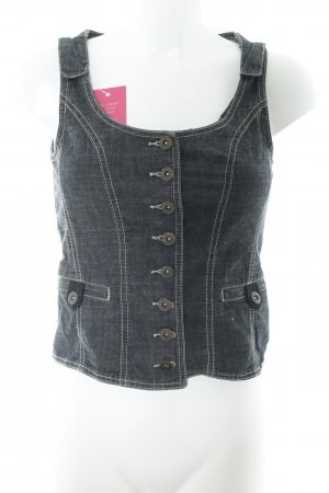 Street One Denim Vest multicolored jeans look