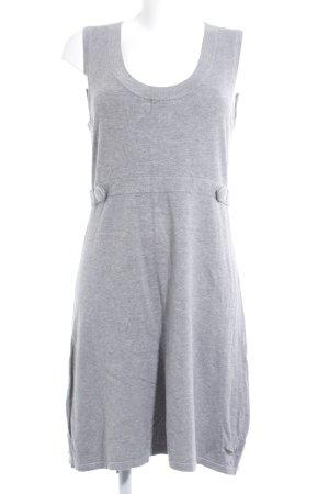 Street One Jerseykleid grau schlichter Stil