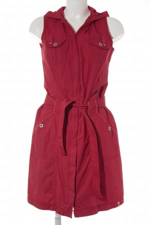 Street One Hooded Vest red casual look