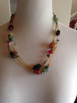 Street one Kette mit unterschiedlichen Perlen in kurz oder lang zu tragen
