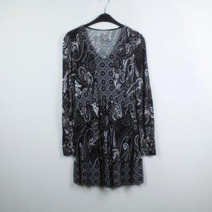 Street One Kleid Gr. 40 grau gemustert (19/05/042/K)