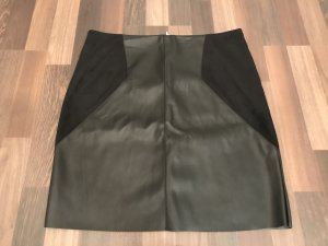 Street One Faux Leather Skirt black