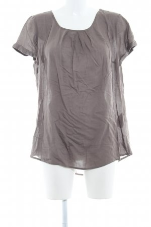 Street One Kurzarm-Bluse taupe Casual-Look