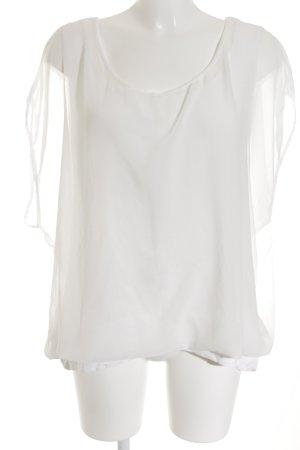 Street One Kurzarm-Bluse weiß Elegant