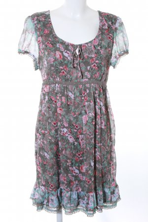 Street One Kurzarmkleid florales Muster Casual-Look