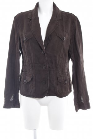 Street One Short Jacket dark brown casual look
