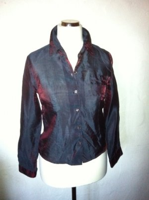 Street One Glanzende blouse donkerpaars-paars Viscose