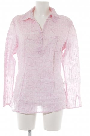 Street One Langarm-Bluse hellrosa-rosa Paisleymuster Casual-Look