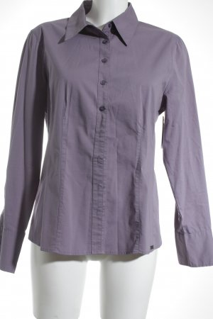 Street One Long Sleeve Shirt lilac-grey lilac simple style