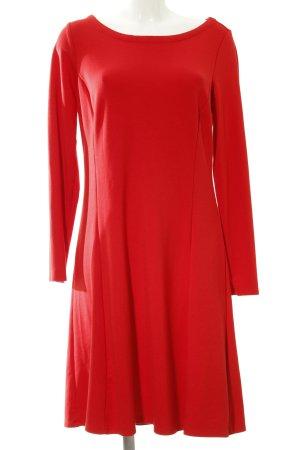 Street One Langarmkleid rot klassischer Stil