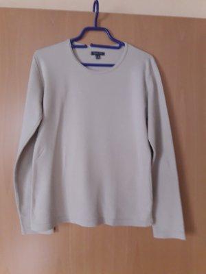 Street One: Langarmshirt beige Größe 40