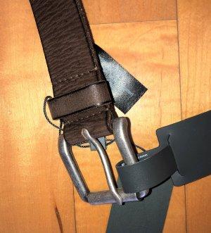 Street One Cinturón de pinchos marrón Cuero