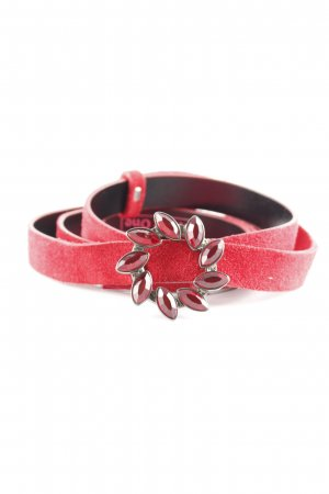 Street One Leather Belt red casual look