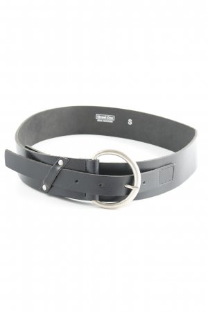 Street One Leather Belt black-gold-colored casual look