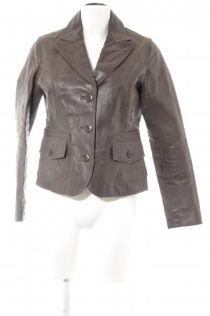 Street One Lederjacke braun Casual-Look