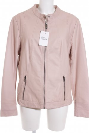 Street One Giacca in pelle rosa pallido Stile ciclista