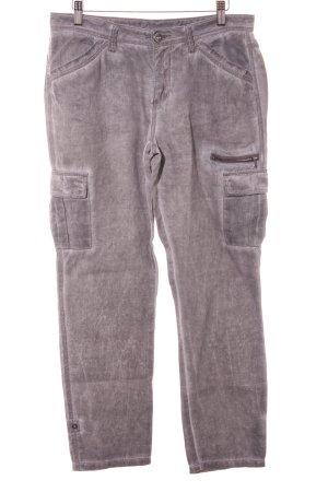 Street One Linnen broek grijs casual uitstraling
