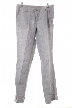 Street One Leinenhose grau Casual-Look