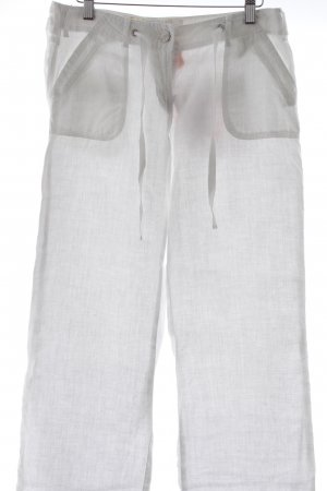 Street One Linen Pants white casual look